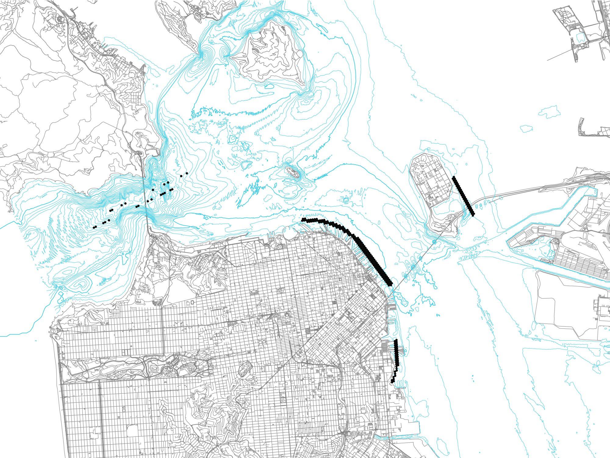 San Francisco. Intervention Map